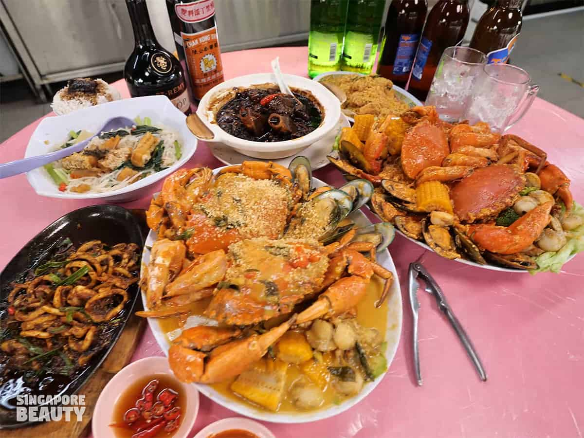katong jago zhi char seafood platter