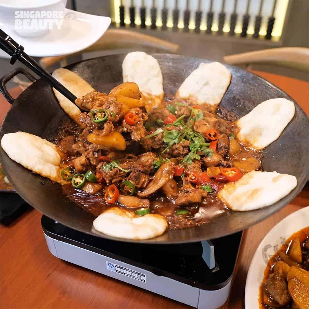 earth pot stew chicken fish