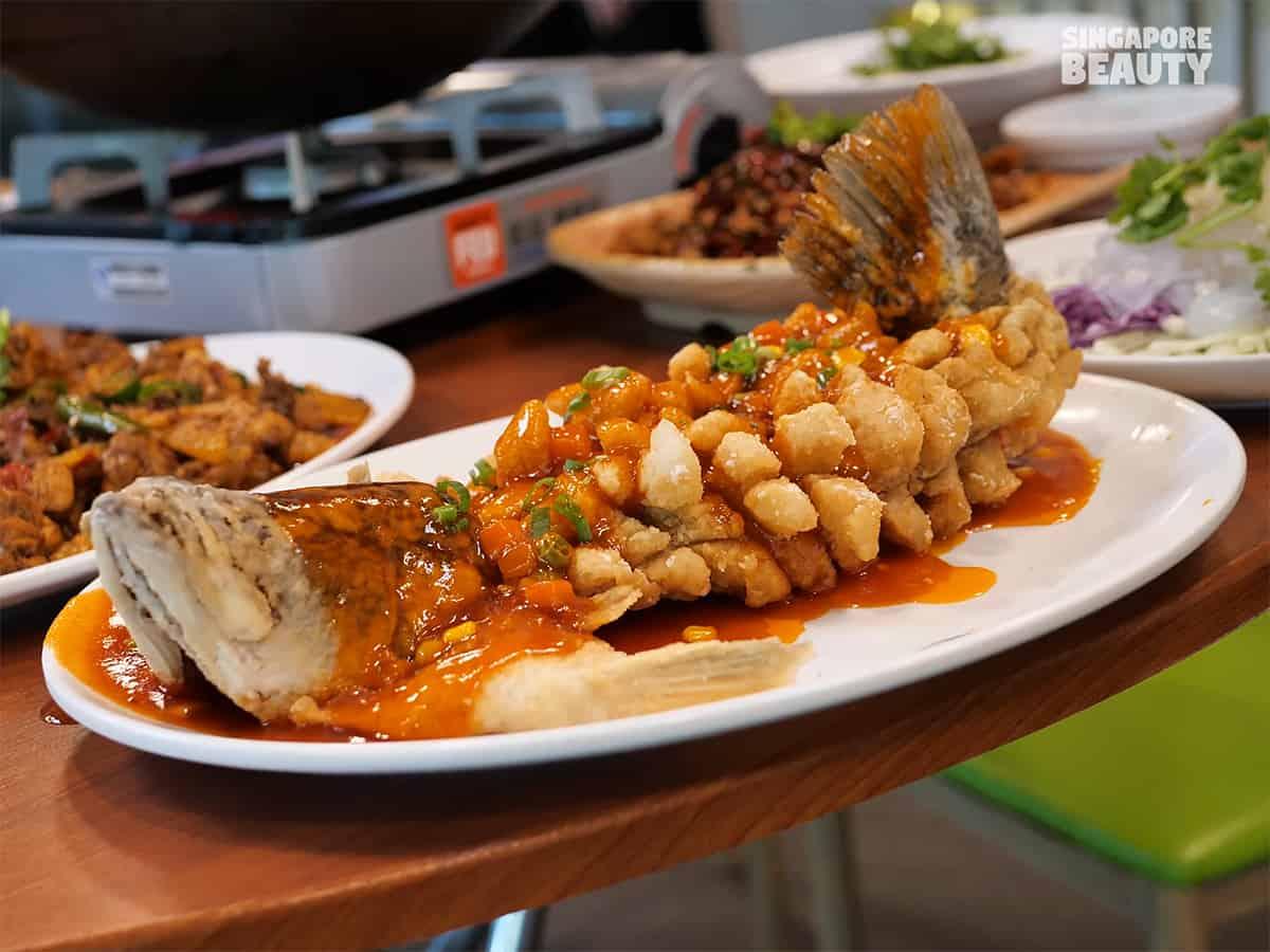 he jia huan signature dish