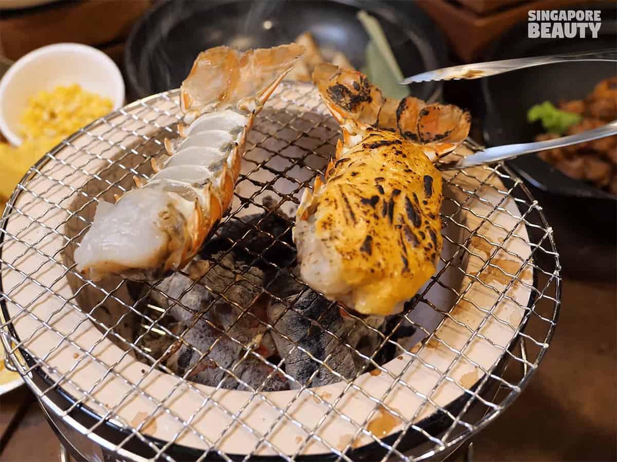 kujaku-yaki-lobster-tail