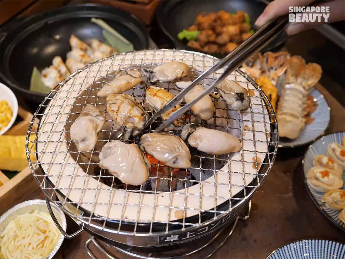 kujaku yaki seafood buffet