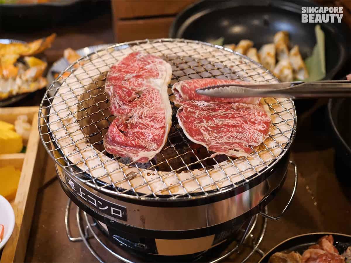 meat yakiniku buffet